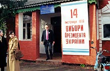 thornburgh in russia as election monitor, 1998