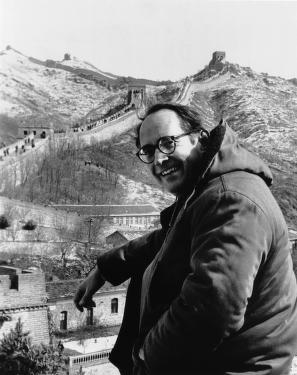 thornburgh at great wall of china, 1980
