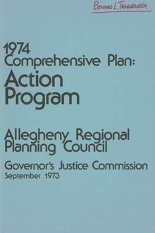 Governor's Justice Commission document cover