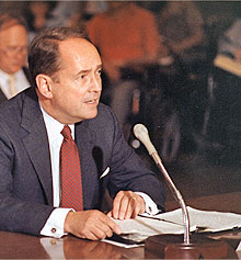 attorney general testifying before u.s. senate committee regarding americans with disabilities act