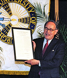 thornburgh holding deed of gift to university of pittsburgh, february 27, 1998