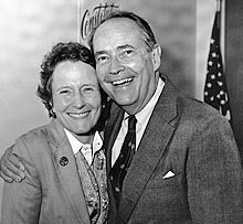 dick thornburgh with his wife, ginny